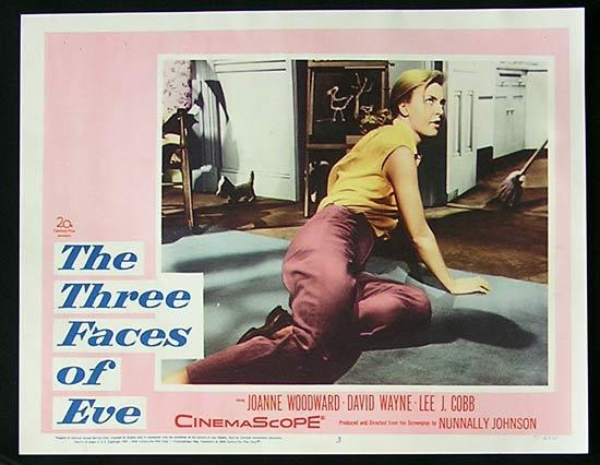 THREE FACES OF EVE Lobby Card 3 1957 Joanne Woodward