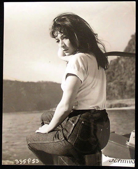 WHIRLPOOL Movie Still 5 1959 Juliette Greco Cornel Lucas Photo