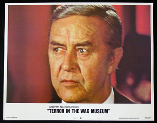 TERROR IN THE WAX MUSEUM Lobby Card #3 1973 Ray Milland