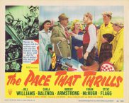 THE PACE THAT THRILLS Lobby Card 2 Bill WIlliams RKO Motorcyle Biker