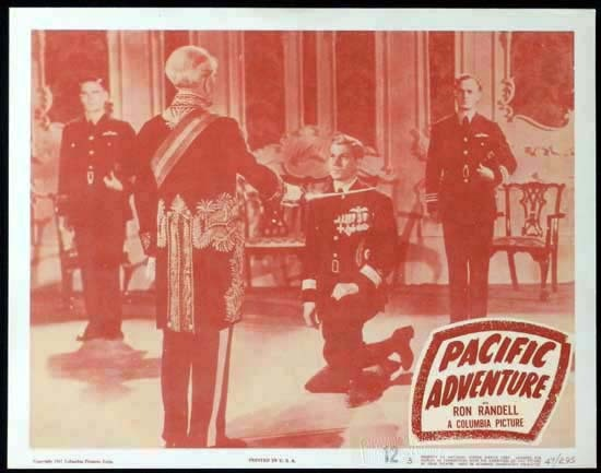 SMITHY aka PACIFIC ADVENTURE 1946 Ken G. Hall KINGSFORD SMITH Lobby Card 3