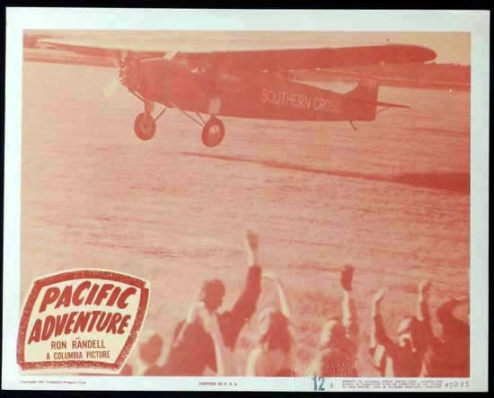 SMITHY aka PACIFIC ADVENTURE 1946 Ken G. Hall KINGSFORD SMITH Lobby Card 5