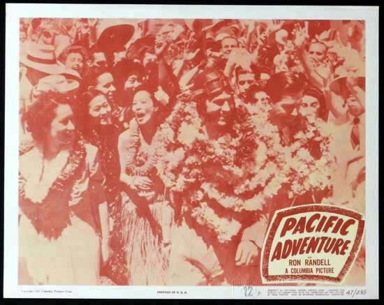 SMITHY aka PACIFIC ADVENTURE 1946 Ken G. Hall KINGSFORD SMITH Lobby Card 7