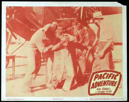 SMITHY aka PACIFIC ADVENTURE 1946 Ken G. Hall KINGSFORD SMITH Lobby Card 8