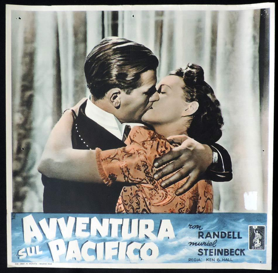 SMITHY Movie Poster Ken G. Hall CHARLES KINGSFORD SMITH Italian Photobusta 10