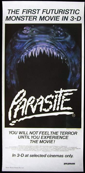 PARASITE Daybill Movie Poster Monster SCI FI Horror 3D Demi Moore