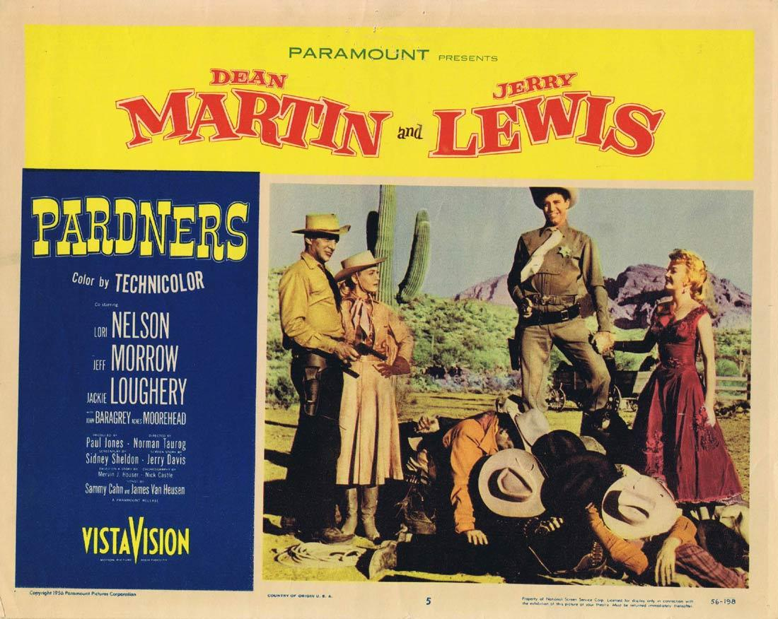 PARDNERS Vintage Movie Lobby Card 5 Dean Martin Jerry Lewis