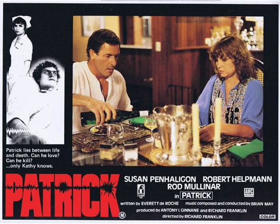 PATRICK 1979 Richard Franklin Australian Lobby Card 5