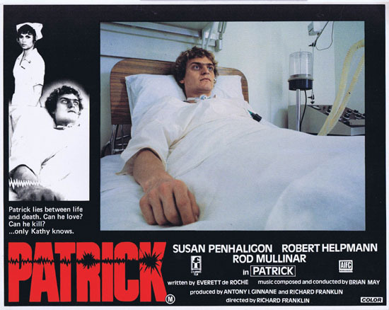 PATRICK 1979 Richard Franklin Australian Lobby Card 8