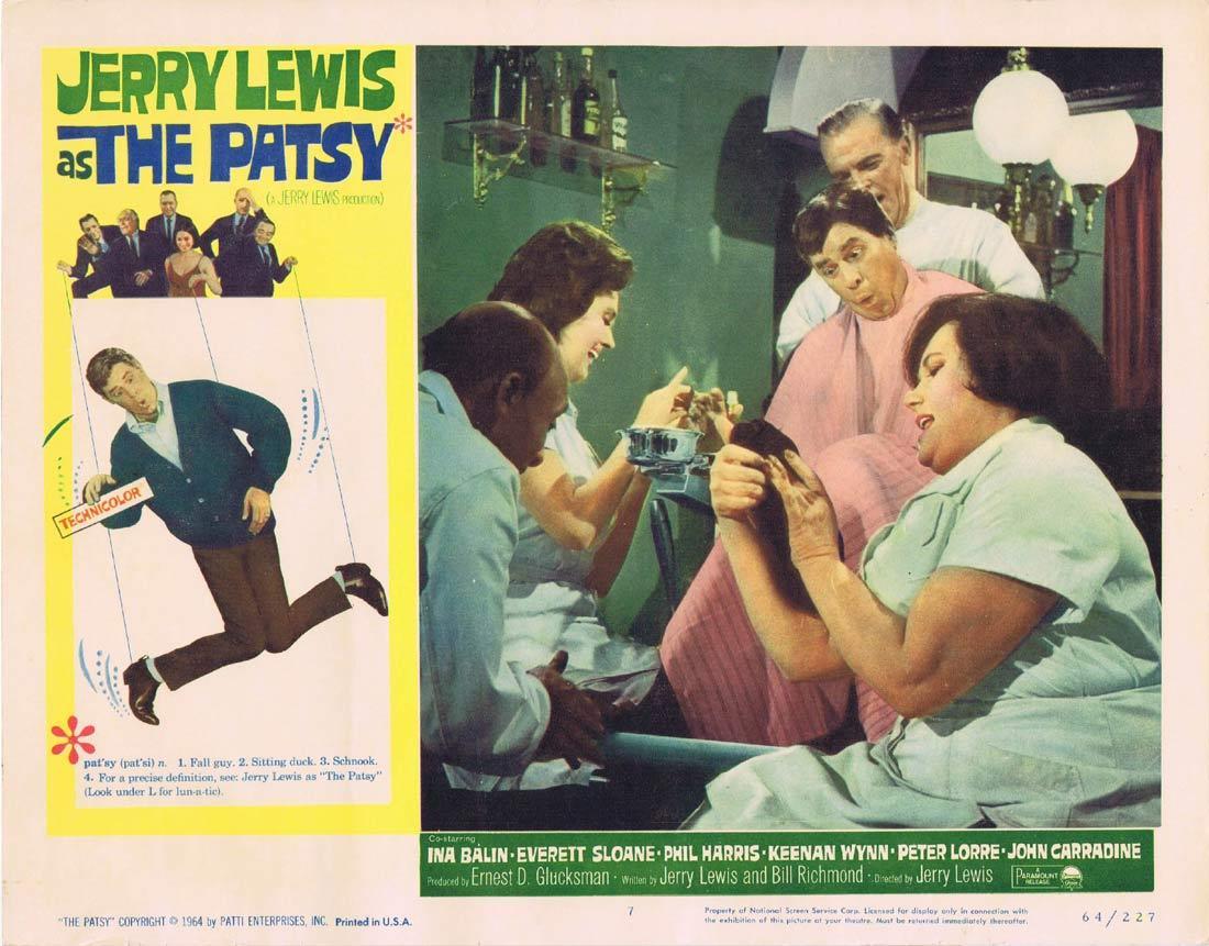 THE PATSY Lobby Card 7 Jerry Lewis Everett Sloane Phil Harris