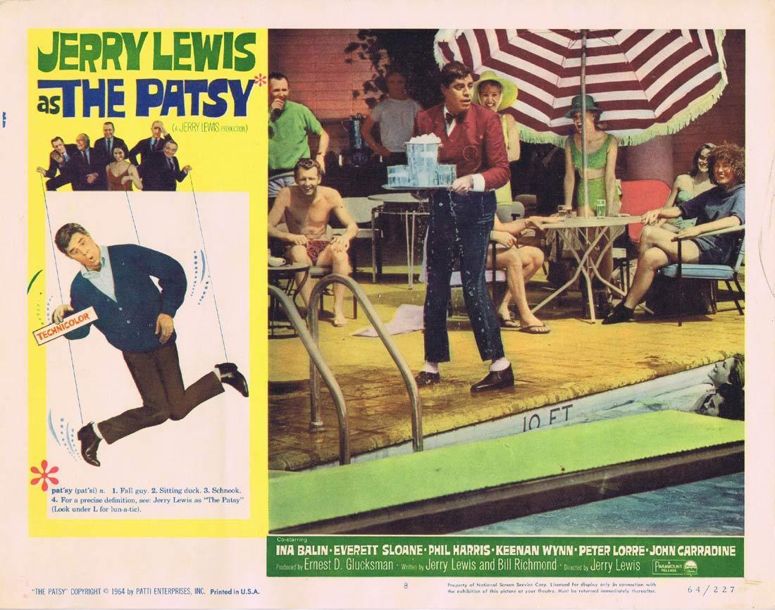 THE PATSY Lobby Card 8 Jerry Lewis Everett Sloane Phil Harris