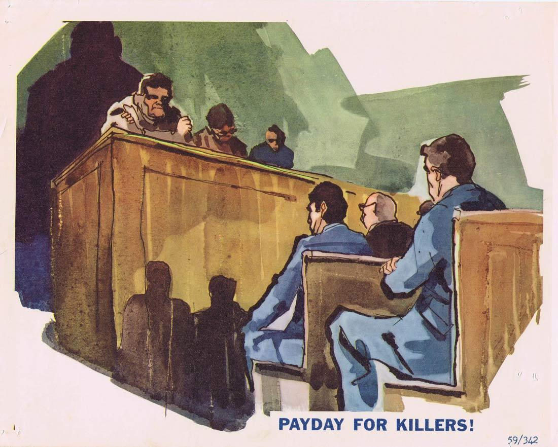 EXECUTIONERS Lobby Card 2 Nuremburg Trials Nazi Criminals documentary
