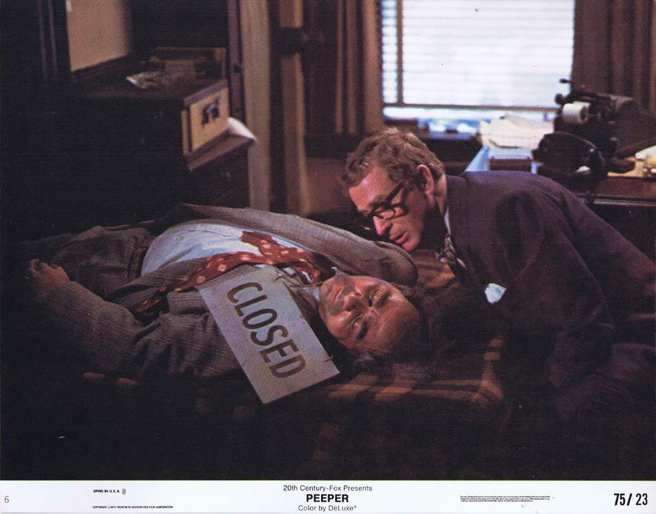 PEEPER Lobby Card 6 Michael Caine Peter Hyams Natalie Wood