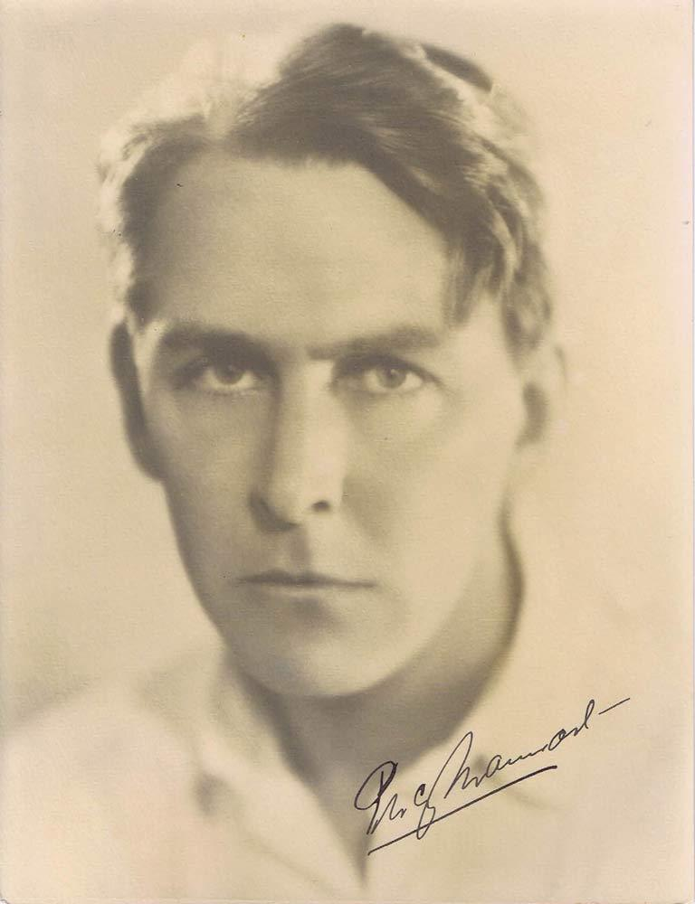 PERCY MARMONT Autograph BW Portait photo