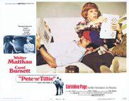PETE N' TILLIE Lobby Card 5 Walter Matthau Carol Burnett Geraldine Page