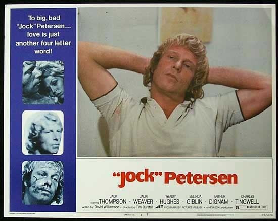 PETERSEN Lobby card 4 Jack Thompson Jacki Weaver Wendy Hughes