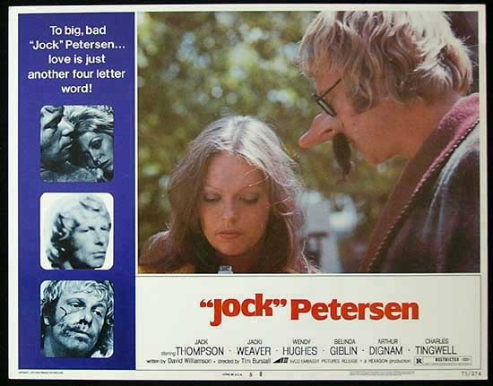 PETERSEN Lobby card 5 Jack Thompson Jacki Weaver Wendy Hughes