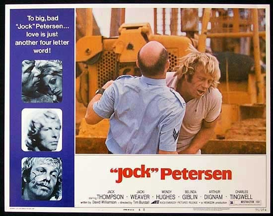 PETERSEN Lobby card 6 Jack Thompson Jacki Weaver Wendy Hughes