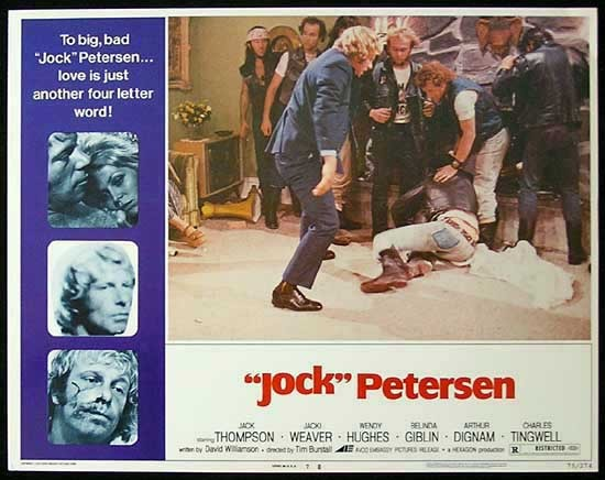 PETERSEN Lobby card 7 Jack Thompson Jacki Weaver Wendy Hughes