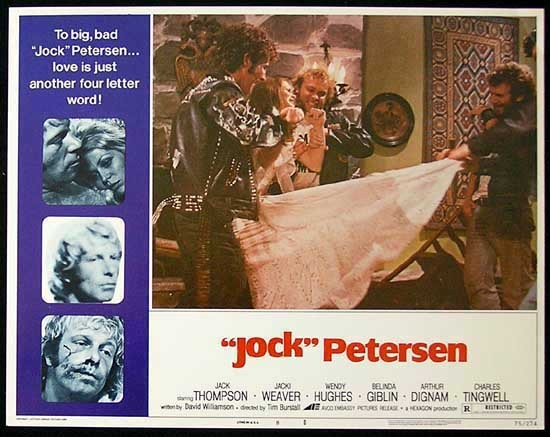 PETERSEN Lobby card 8 Jack Thompson Jacki Weaver Wendy Hughes