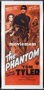 THE PHANTOM Daybill Movie Poster TOM TYLER Columbia Serial Original NZ release