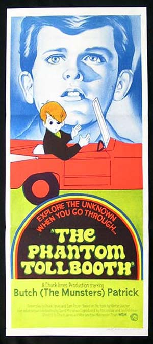 THE PHANTOM TOLLBOOTH Chuck Jones Mel Blanc Daybill Movie poster