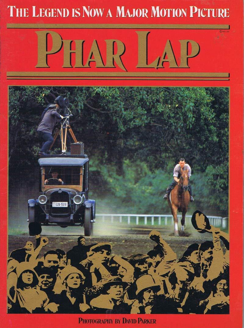 PHAR LAP Original Movie Tie In Book Tom Burlinson Martin Vaughan