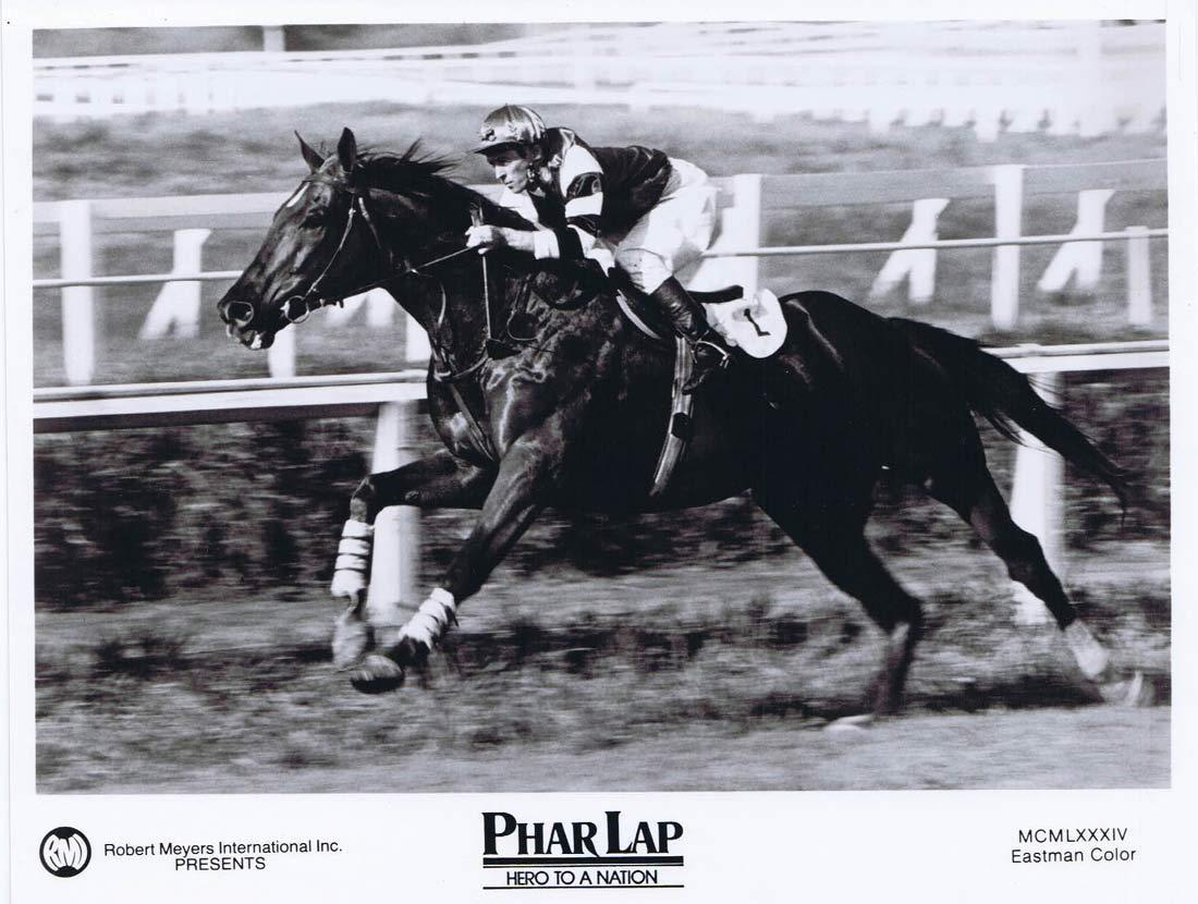 PHAR LAP Original Movie Still 1 Horse Racing Tom Burlinson