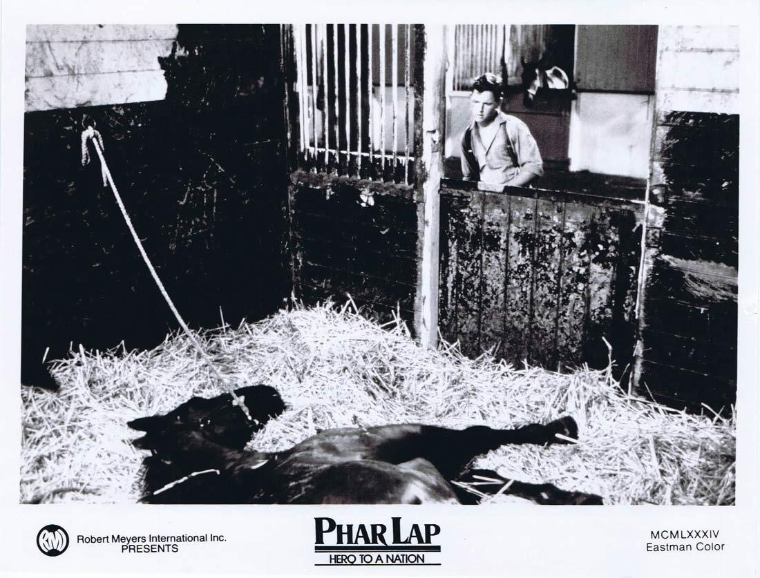 PHAR LAP Original Movie Still 21 Horse Racing Tom Burlinson