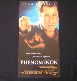 PHENOMENON Original Daybill Movie poster John Travolta