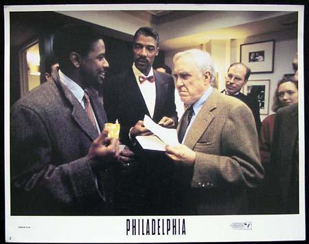 PHILADELPHIA-Denzel Washington ORIGINAL US Lobby card #2