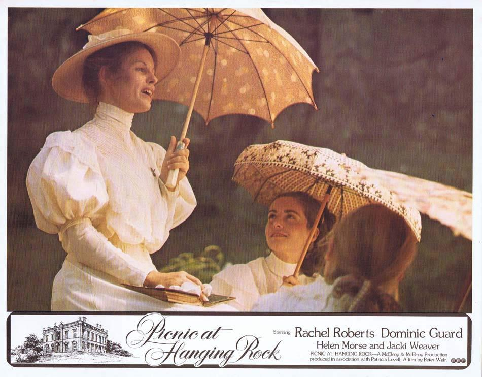 PICNIC AT HANGING ROCK Lobby Card 9 Peter Weir