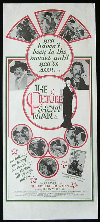 THE PICTURE SHOW MAN Daybill Movie poster 1977 John Meillon Rod Taylor