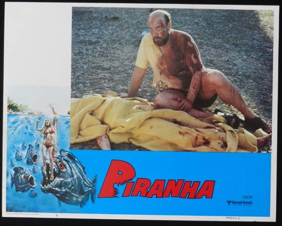PIRANHA They're Here & They're Hungry US Lobby Card 7