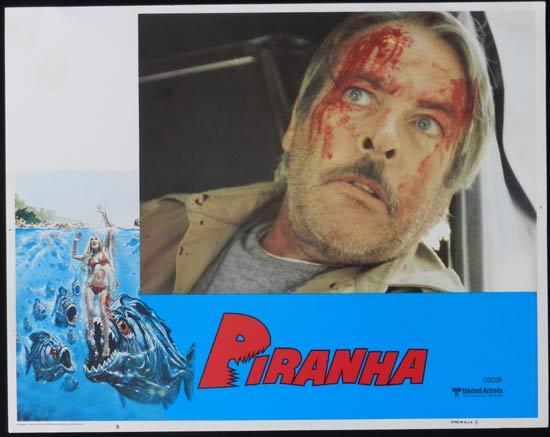 PIRANHA They're Here & They're Hungry US Lobby Card 8