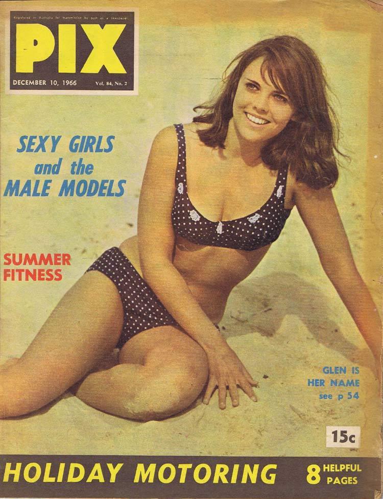 PIX Magazine Dec 10 1966 Sexy Girls Male Models Holiday Motoring