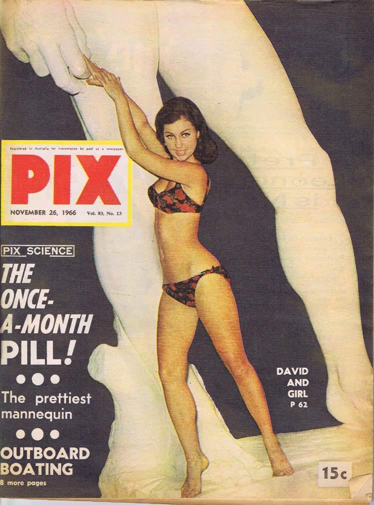 PIX Magazine Nov 26 1966 Outboard Girl