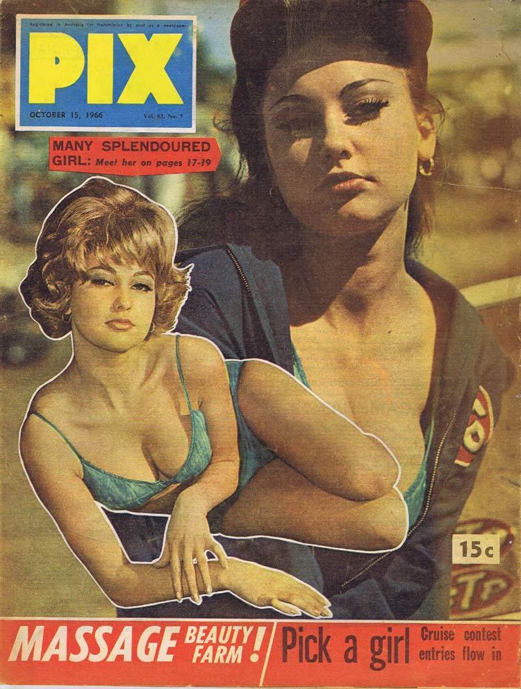 PIX Magazine Oct 15 1966 Massage Beauty Farm