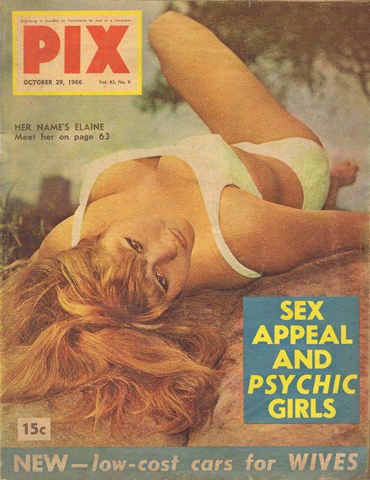 PIX Magazine Oct 29 1966 Sex Appeal Psychic Girls