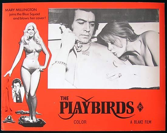 THE PLAYBIRDS 1978 Mary Millington RARE Lobby Card 1 Alan Lake