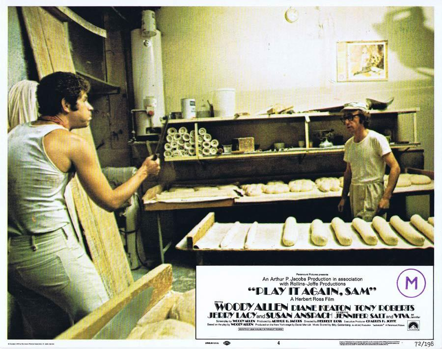 PLAY IT AGAIN SAM Lobby Card 4 Woody Allen Diane Keaton