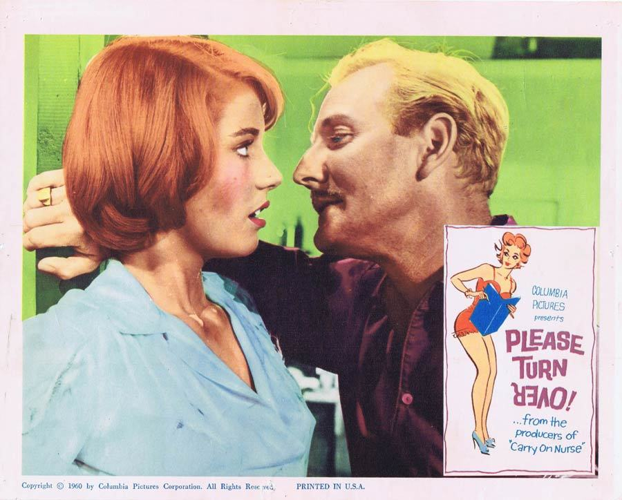 PLEASE TURN OVER Lobby Card 3 Ted Ray Leslie Phillips