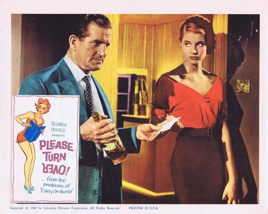 PLEASE TURN OVER Lobby Card 4 Ted Ray Leslie Phillips