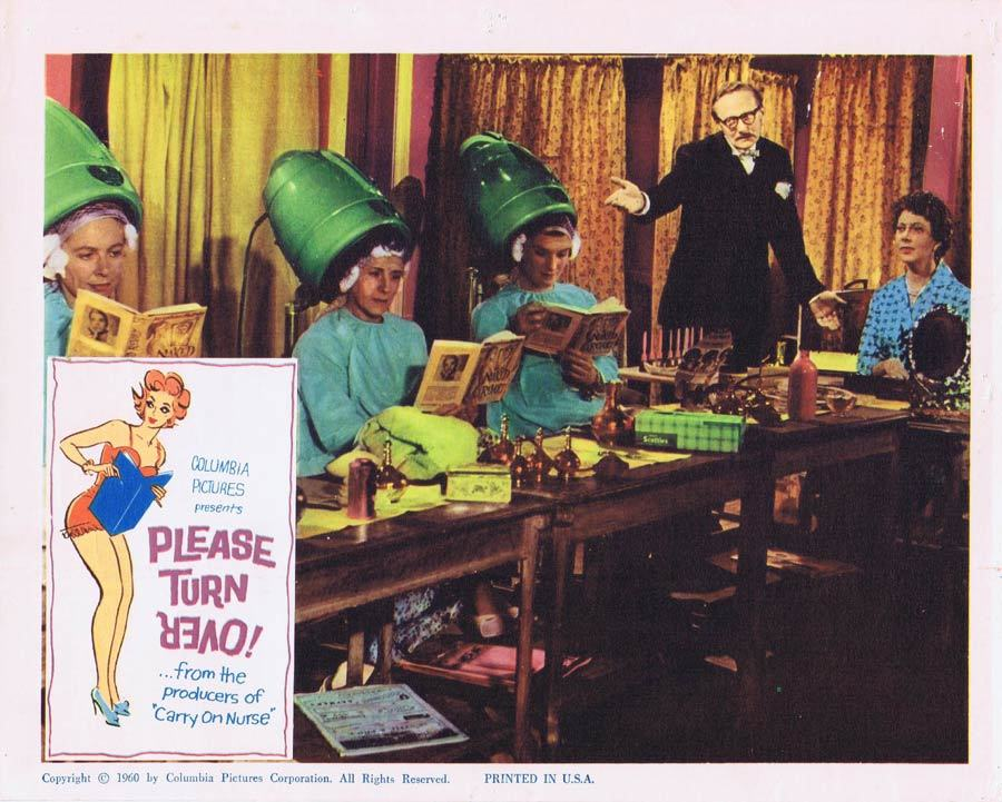 PLEASE TURN OVER Lobby Card 6 Ted Ray Leslie Phillips