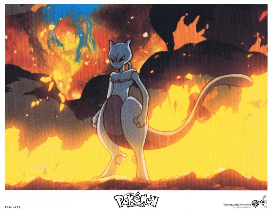 POKEMON THE MOVIE Lobby Card 5 Mewtwo Strikes Back