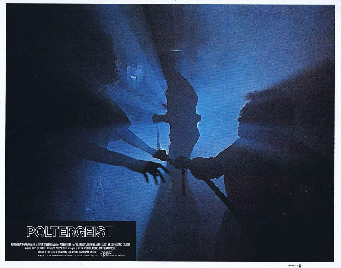POLTERGEIST Lobby Card 1 Craig T. Nelson JoBeth Williams Horror