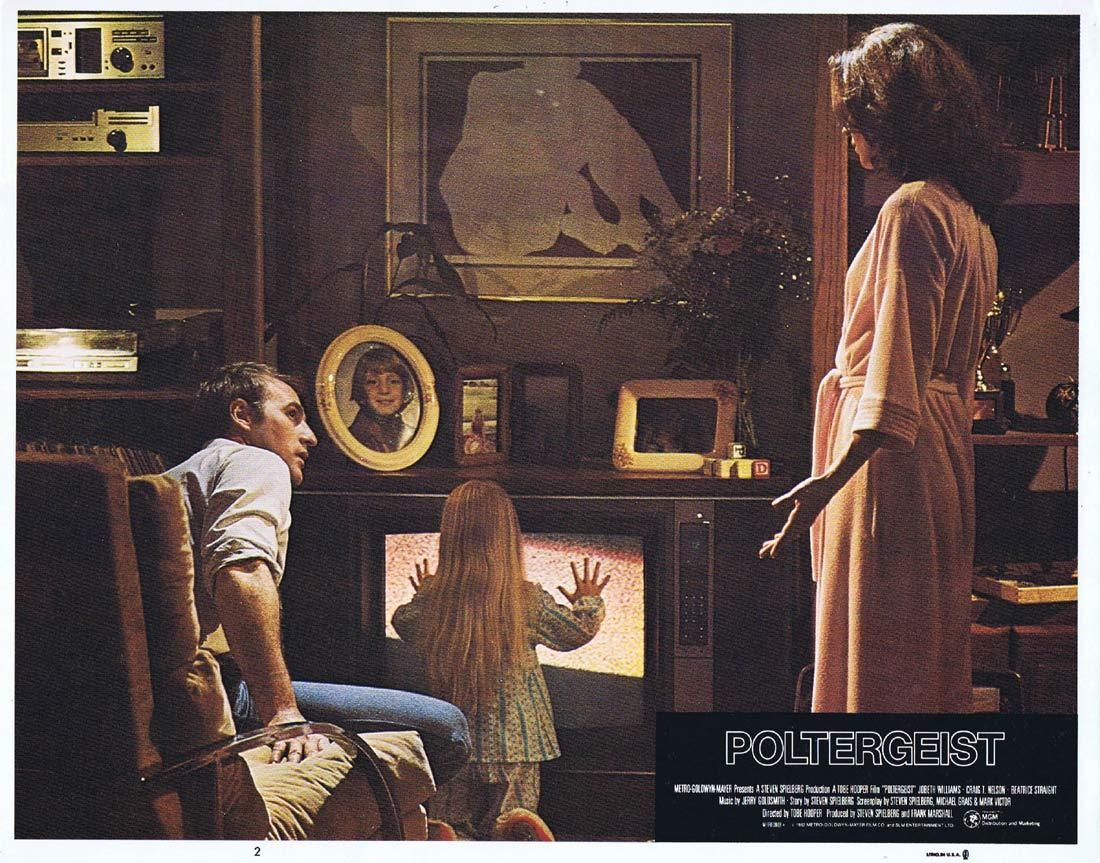POLTERGEIST Lobby Card 2 Craig T. Nelson JoBeth Williams Horror