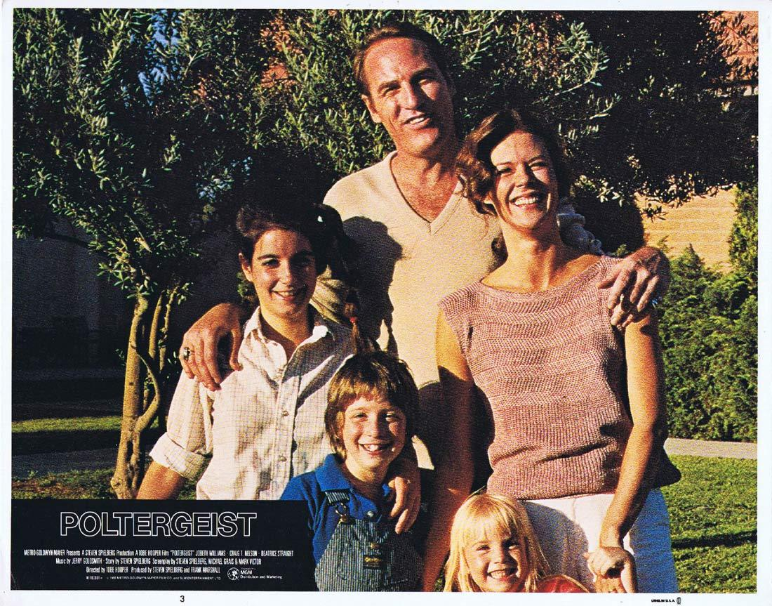 POLTERGEIST Lobby Card 3 Craig T. Nelson JoBeth Williams Horror