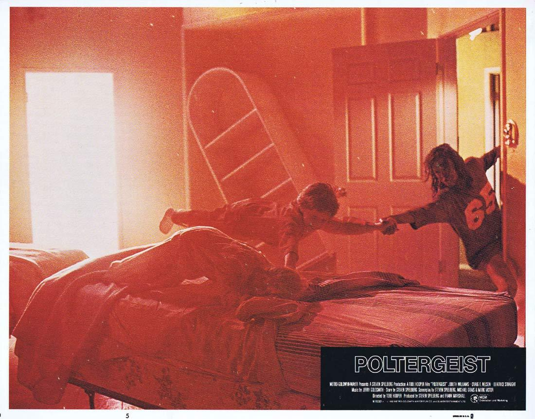 POLTERGEIST Lobby Card 5 Craig T. Nelson JoBeth Williams Horror