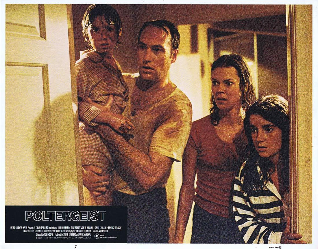 POLTERGEIST Lobby Card 7 Craig T. Nelson JoBeth Williams Horror